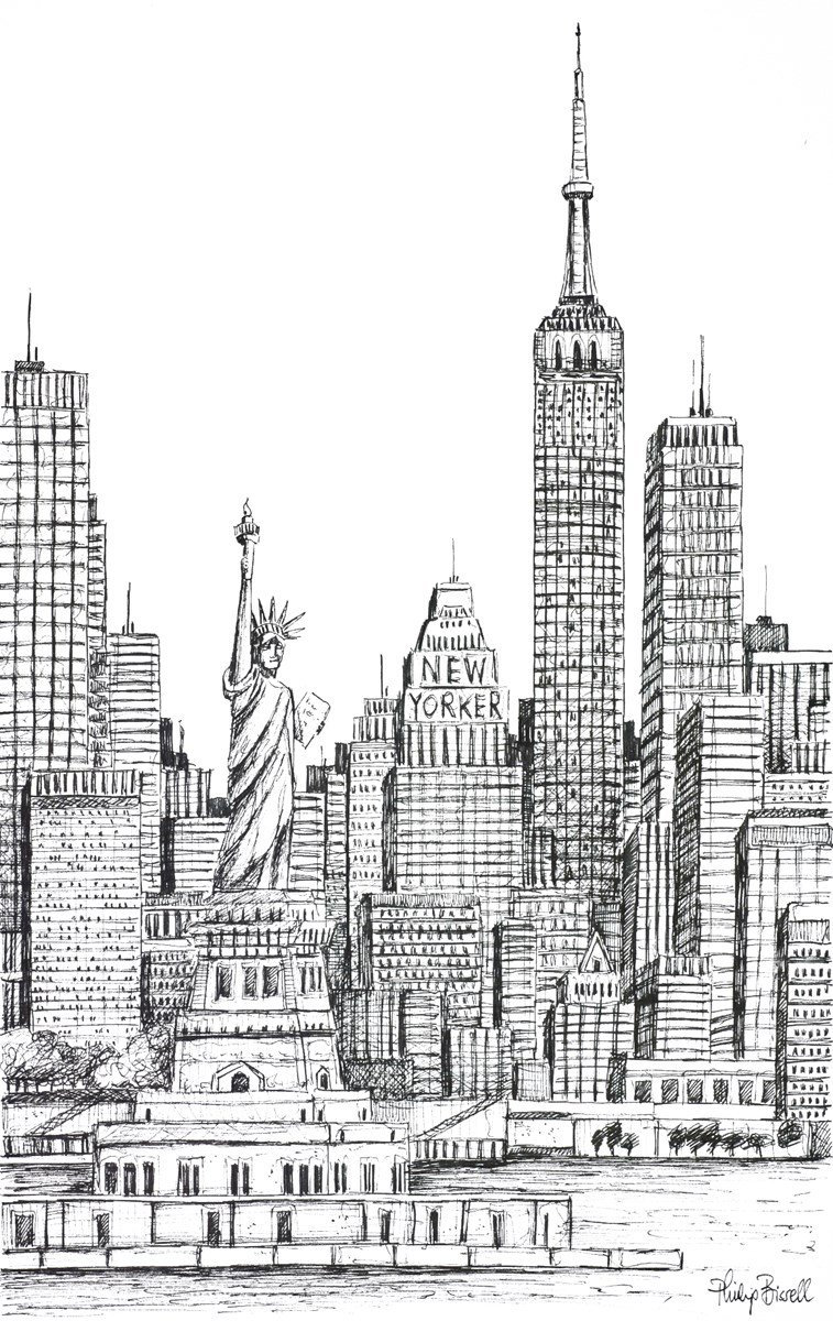 A New York Welcome (Sketch)